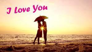 I Love You Boy And Girl Kiss Image ...