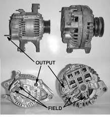 mopar alternator questions or people electrical smarts the unit that shows up in the parts house catalog looks completely different a single field pole and a ground lead instead of an additional field wire