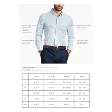 Mizzen And Main Size Chart Patterson Woven Trim Fit Shirt S Mizzen Main Permanent