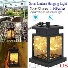 Solar Led Garden Lights Ebay Waterproof Outdoor Solar Lantern Hanging Light Led Yard Patio Garden Lamp Decors