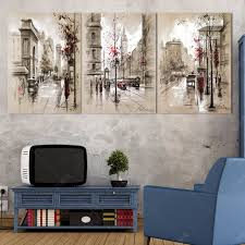 Small Picture Aliexpresscom Buy 3 Piece home decor poster Modular Painting On