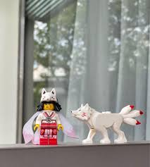 lego ninjago akita girl and fox, Toys & Games, Bricks & Figurines on  Carousell