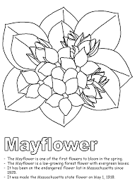 Small Picture Mayflower coloring page