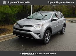 2018 New Toyota RAV4 XLE FWD at Toyota of Fayetteville Serving NWA ...