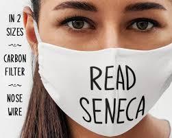 Read Seneca Face Mask Stoic Gift Idea   Etsy
