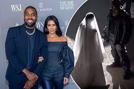 Kim Kardashian dons wedding dress at ...