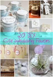 15 Cute & Easy DIY Wedding Favor Crafts