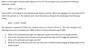 Export Contract Sample Mesmerizing Alpha Is A Norwegian Company With Exports To The U Chegg