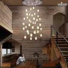 led stairwell lighting. Stairwell Lighting Fixtures Pendant Lights Modern Led Crystal  Font B Ceiling . E