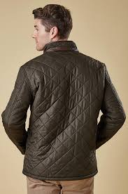 Buy brilliant Barbour Powell Mens Olive Green Quilted Jacket at ... & Buy brilliant Barbour Powell Mens Olive Green Quilted Jacket at SMYTHS -  Smyths Country Sports Adamdwight.com
