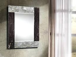 crystal framed mirror rectangular wall mounted framed mirror by crystal stone glass framed crystal mirror