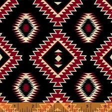 navajo designs. Exellent Designs The Sierra Trail Indian Pottery Windham Fabrics Black Navajo Design With Designs