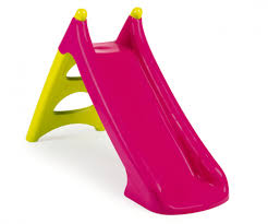 Toboggan Xs Green Pink Slides Outdoor Products Www Smoby Com