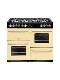 Why Dual Fuel Range Belling Farmhouse 100cm Dual Fuel Range Cooker Cream Appliance