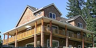 basement house designs. 9929 brick house plans, daylight basement plans for sloping lots, designs