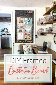 diy cool home office diy. Carve Out A Space In Your Small Home Office Nook For An Easy DIY Bulletin Board Diy Cool