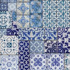 Mural Tiles For Kitchen Decor Mural Wallpaper Moroccan Tiles Muriva 601547 Http Wwwmuriva