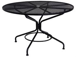 60 inch round teak outdoor table 60 inch round outdoor dining table awesome meadowcraft glenbrook round mesh patio dining table outdoor