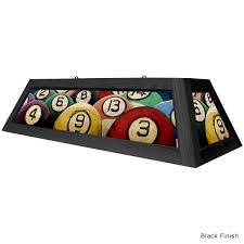 rack em billiard ball pool table light