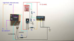 touch sensitive light switch circuit diagram touch sensitive light switch circuit diagram