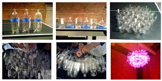 diy led project jellyfish led chandelier light