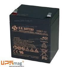 <b>Аккумулятор</b> BB <b>Battery</b> SHR 7-12 (<b>12V</b> / 5.8Ah)