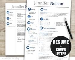 Marketing Resume Templates Word Teacher Resume Template Word Cover Letter Template Instant 15