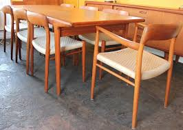 mid century teak dining table and chairs. image of: mid century dining set houston tx teak table and chairs h