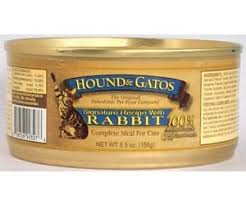 Hound Gatos Hound Gatos Rabbit Formula Grain Free Canned Cat Food 5 5 Oz