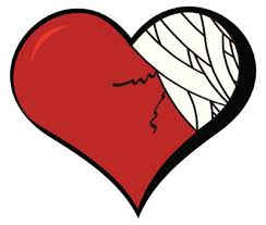 Image result for bandaged heart
