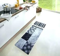 kitchen rugats living cook clean grey black runner designer rug mat best desi