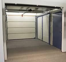 garage doors with pedestrian access