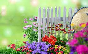 flowers garden. Free Garden Wallpaper Flowers