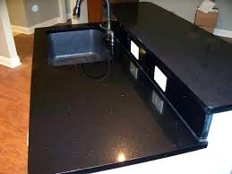 black quartz countertops cost