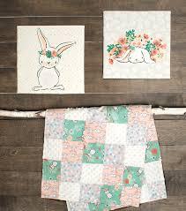 nursery fabric panel 36 u0027 u0027x43 u0027 u0027 bunny wall art