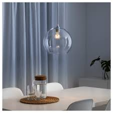 Jakobsbyn Pendant Lamp Shade Clear Glass Bedroom Contemporary