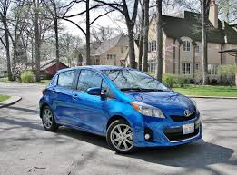 2012 Toyota Yaris SE Hatchback – Breaking an Egg | Drive...He Said