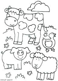 Animal Printable Coloring Pages Kids Coloring Pages Animals Free