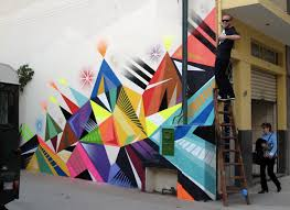 geometric wall paintQuick Tips Create Geometric Wall Painting Pattern