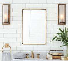 vintage rounded rectangular recessed