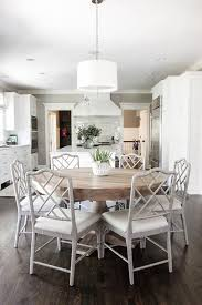grey wood round dining table marvelous salle manger salvaged with gray bamboo decorating ideas 28