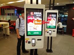 Mcdonalds Vending Machine Inspiration Fast Food Ordering Self Service Payment Kiosk Machine For Mcdonalds