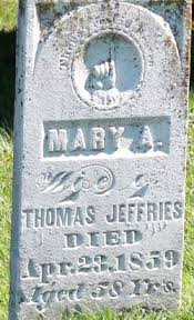 "Mary Ann ""Polly"" Alexander Jeffries (1800-1859) - Find A Grave Memorial"