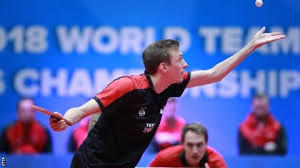 liam pitchford was unbeaten at the tournament heading into the quarter finals england s men exited the world table tennis