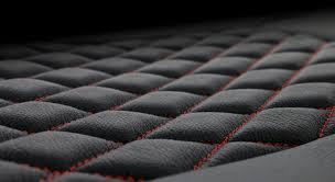 tekstitch custom diamond leather seat stitching