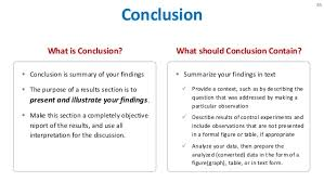 purpose of research paper conclusion conclusions