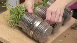 Hanging Kitchen Herb Garden How To Plant An Indoor Hanging Herb Garden With Gina Youtube