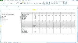Simple Cash Flows Basic Cash Flow Statement Template