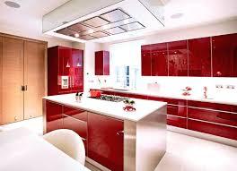 red kitchen white cabinets high gloss kitchen cabinets collect this idea high gloss red white kitchen red kitchen white