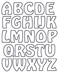 Printable Font Templates Alphabet Letters To Print Free